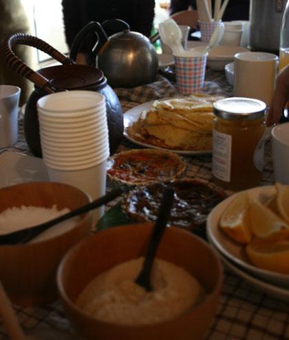 gouter de la chandeleur : クレープと紅茶のパーティ_f0038600_20501696.jpg
