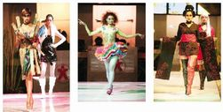 インドネシアの文化服装学院のファッションショー_a0054926_22202735.jpg