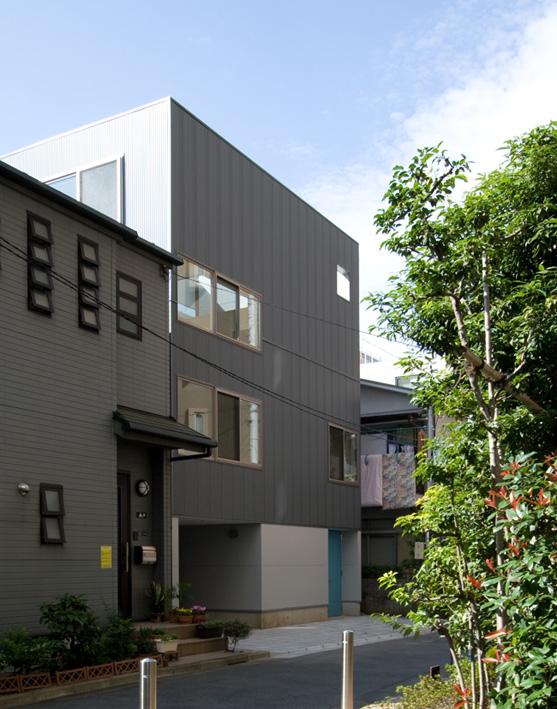 ライトコートの家 1 狭小住宅 建築家 シンプルなデザイン _e0127948_2333836.jpg