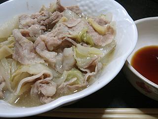 豚バラと白菜の重ね蒸し_c0025217_1271376.jpg