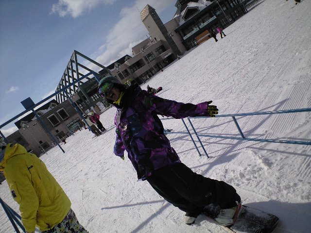 今日はアルツ磐梯スキー場_c0151965_17352172.jpg