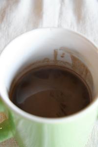 バッボの「甘い」ホットチョコレート_f0106597_19521190.jpg