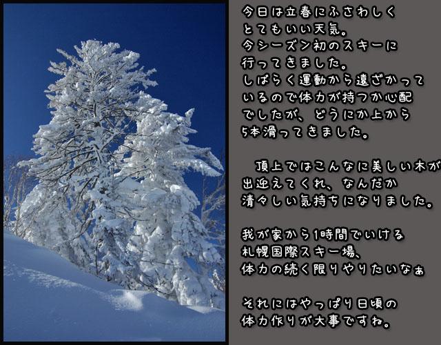 立春の日のスキー_b0019313_17334141.jpg