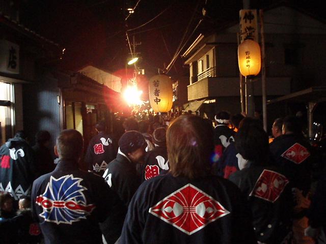 ヤーヤ祭り練り最終日(弐番祷堀町編)_c0010936_22384967.jpg