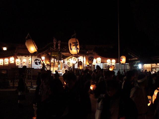 ヤーヤ祭り練り最終日(弐番祷堀町編)_c0010936_22392890.jpg