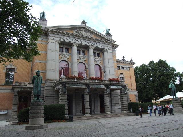 ノルウェー (42)   国立劇場と国立美術館_c0011649_20343076.jpg