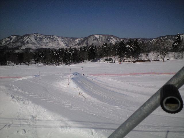 今日は会津若松南郷スキー場★_c0151965_13354855.jpg