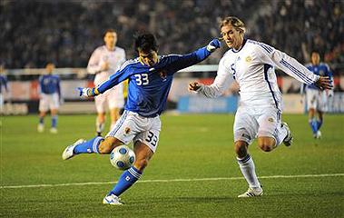 日本×フィンランド キリンチャレンジカップ2009_c0025217_1125337.jpg