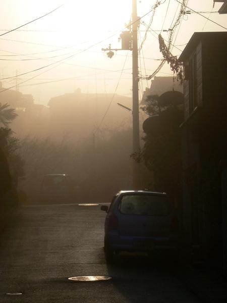 「京都・大亀谷・霧の朝」_d0133024_1012976.jpg