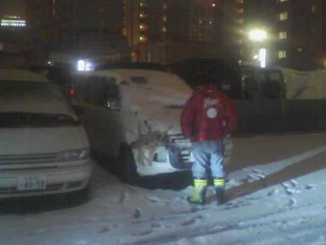 今日から雪まつり(^^)v_b0127002_3203664.jpg