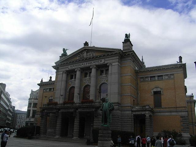 ノルウェー (42)   国立劇場と国立美術館_c0011649_838238.jpg