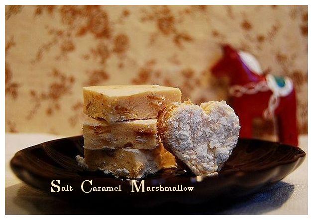 塩キャラメルのマシュマロ & フレッシュ苺の練乳ケイク_a0105872_8232018.jpg