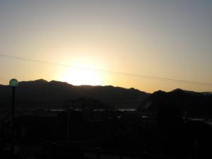 。・゜*・。冬の夕陽・゜。*゜。・_d0135908_22425310.jpg