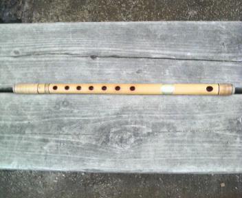 郷土芸能の竹笛の練習_d0150722_729341.jpg