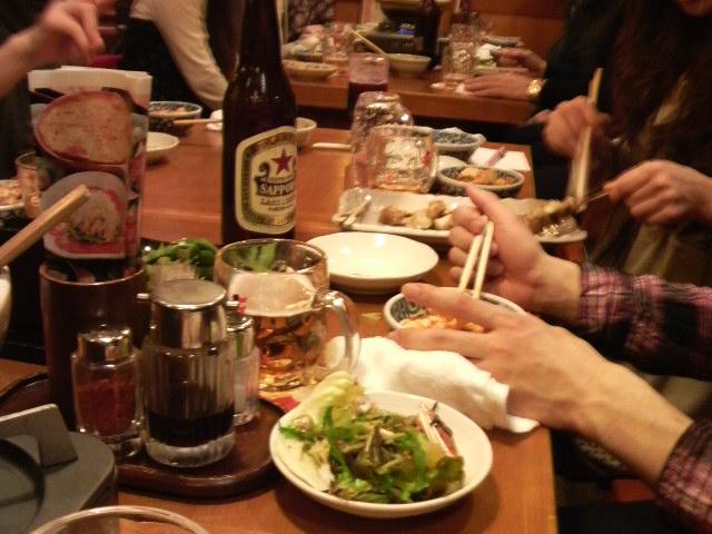 飲み会~_e0114246_17533421.jpg