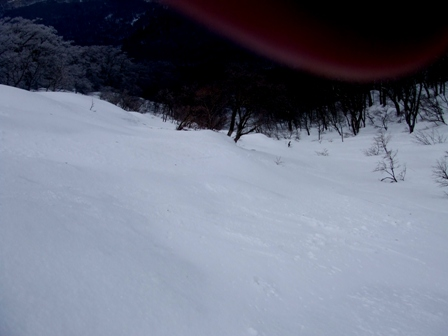 大山 山スキー  単独_d0007657_19185089.jpg