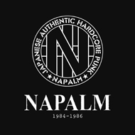 NAPALM / 1984-1986(STRAIGHT UP RECORDS)_a0119383_2042190.jpg
