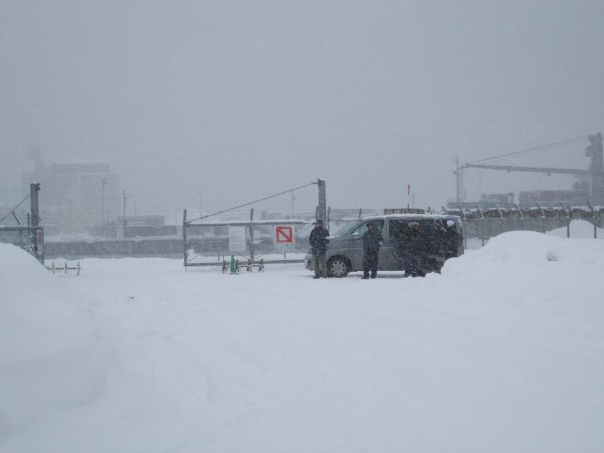 901) 小樽港 「米国第7艦隊所属 イージス駆逐艦『フィッツジェラルド』」 2009年2月8日_f0126829_12354848.jpg