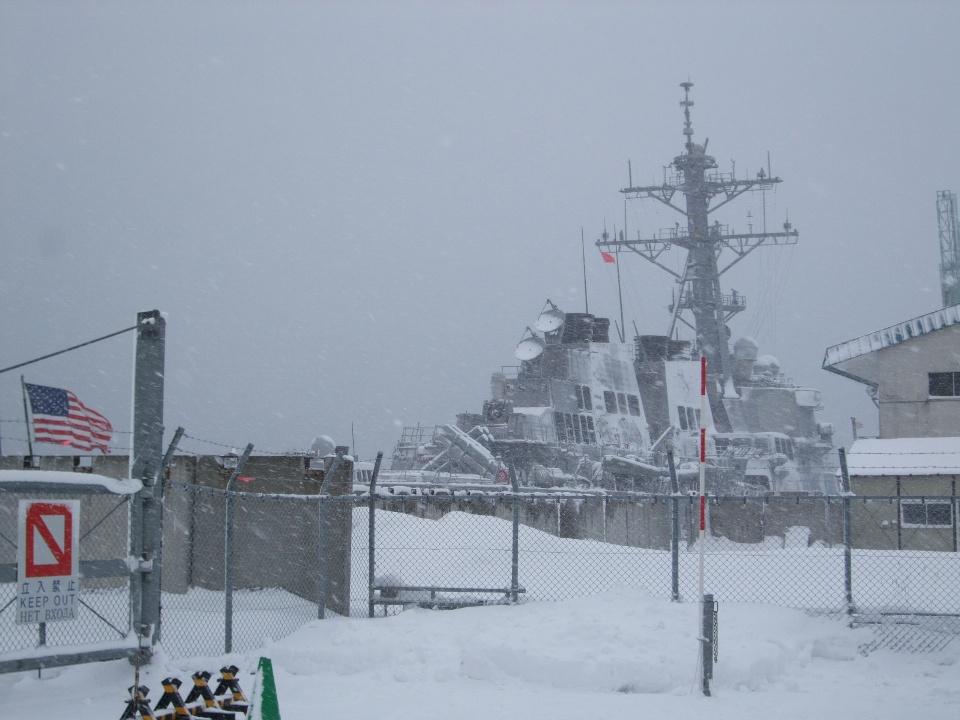 901) 小樽港 「米国第7艦隊所属 イージス駆逐艦『フィッツジェラルド』」 2009年2月8日_f0126829_12522388.jpg