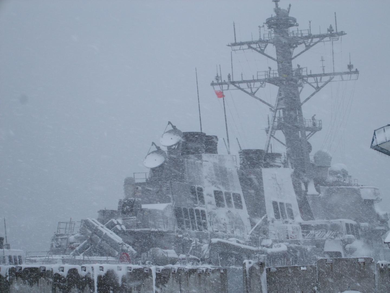 901) 小樽港 「米国第7艦隊所属 イージス駆逐艦『フィッツジェラルド』」 2009年2月8日_f0126829_1310471.jpg