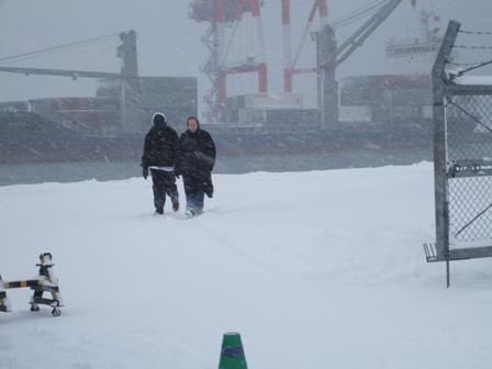 901) 小樽港 「米国第7艦隊所属 イージス駆逐艦『フィッツジェラルド』」 2009年2月8日_f0126829_1310522.jpg