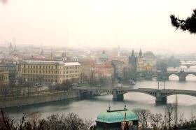 プラハが一望できる素敵なレストラン_c0182100_8505241.jpg