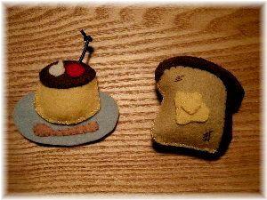 プリンとパン。_b0157216_20392477.jpg