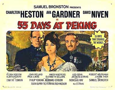55 Days at Peking by Dimitri Tiomkin (OST)_f0147840_17395214.jpg