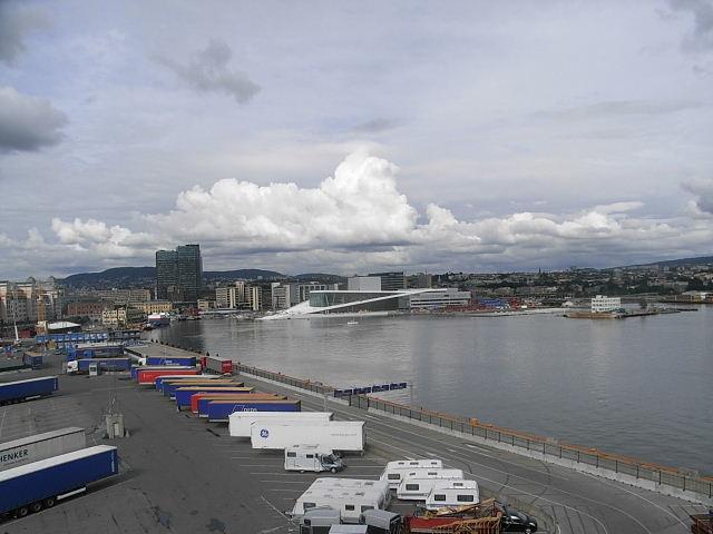 ノルウェー (47)     オスロ港・出港・・・・さらばノルウェー_c0011649_23334520.jpg