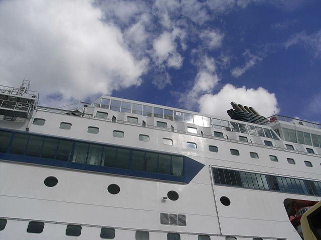 ノルウェー (47)     オスロ港・出港・・・・さらばノルウェー_c0011649_23362926.jpg