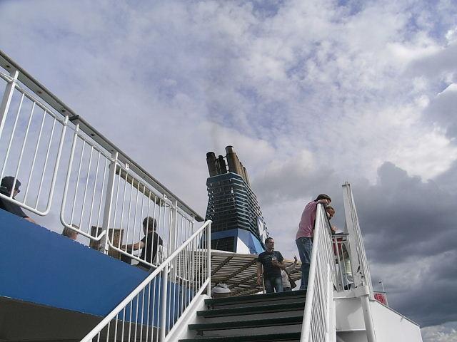 ノルウェー (47)     オスロ港・出港・・・・さらばノルウェー_c0011649_23594270.jpg