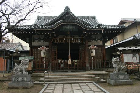 【柴島】 法華寺 ・ 柴島神社_a0045381_23391213.jpg