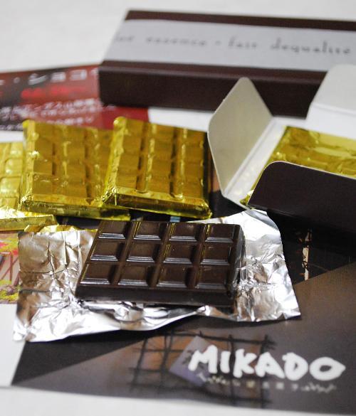 MIKADOのタブレット・ショコラ_c0177814_15474236.jpg