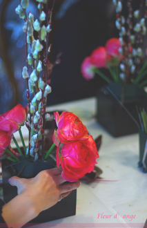◆フレッシュレッスン、春のお花を使って◆_b0111306_1620017.jpg