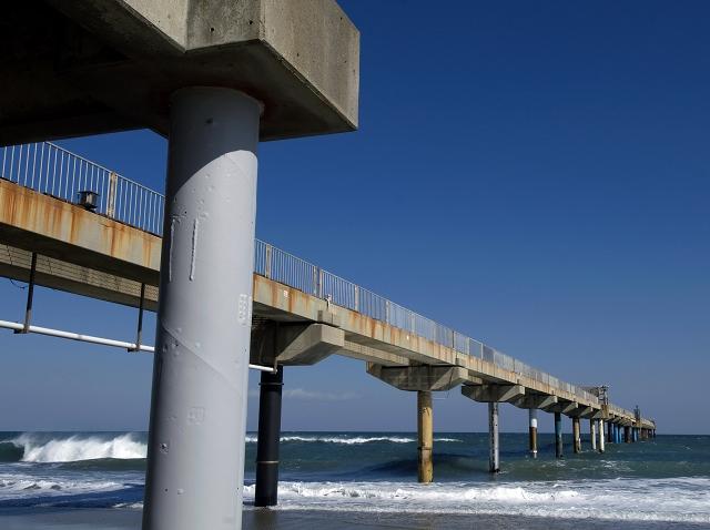 波崎海洋観測施設_f0018464_7342446.jpg