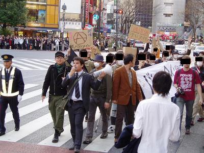 今日の渋谷駅前~「バレンタイン粉砕闘争」見学記2009_f0030574_21481956.jpg