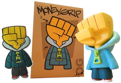 Moneygrip Figure and Patch set by kaNO_e0118156_22345620.jpg