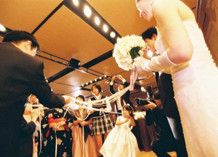 ハイアットリージェンシーでの結婚式_e0046950_1424290.jpg
