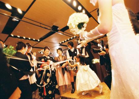 ハイアットリージェンシーでの結婚式_e0046950_1425918.jpg