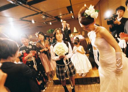 ハイアットリージェンシーでの結婚式_e0046950_14263035.jpg
