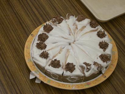 バレンタイン チョコレートケーキ_c0186983_1501425.jpg