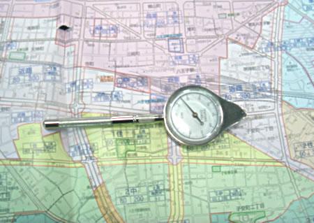 自転車の 距離計測 地図 自転車 : 八王子一人暮らしマニュアル ...