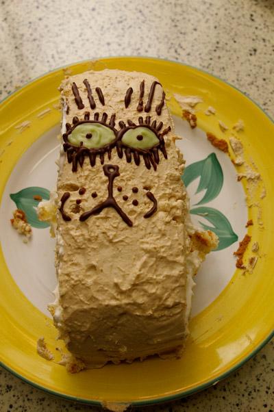 「か」が作ったケーキ_a0028451_3375574.jpg