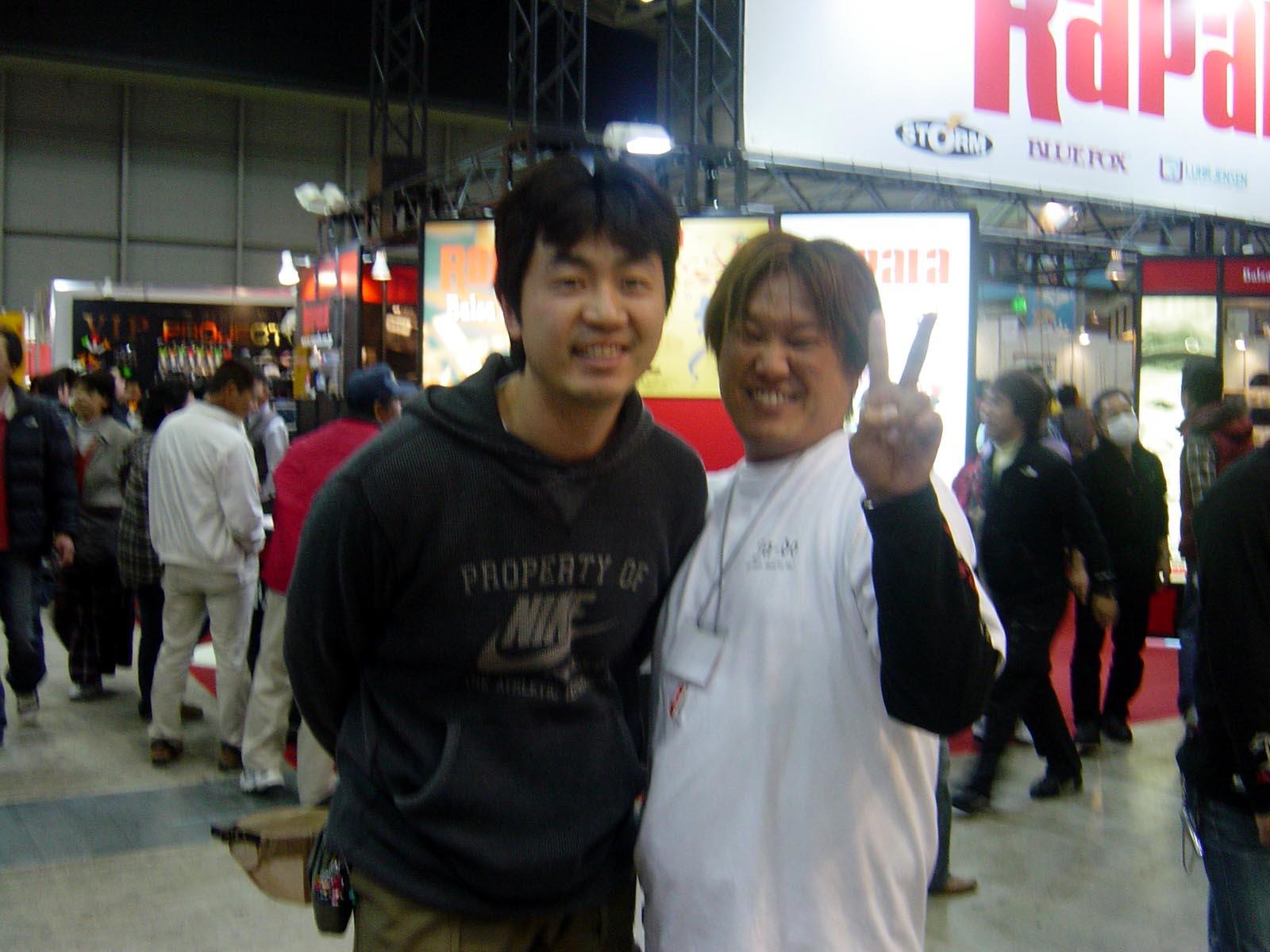 行って参りましたよぉ~ 国際フィッシングショー2009 in横浜_c0008395_0402893.jpg