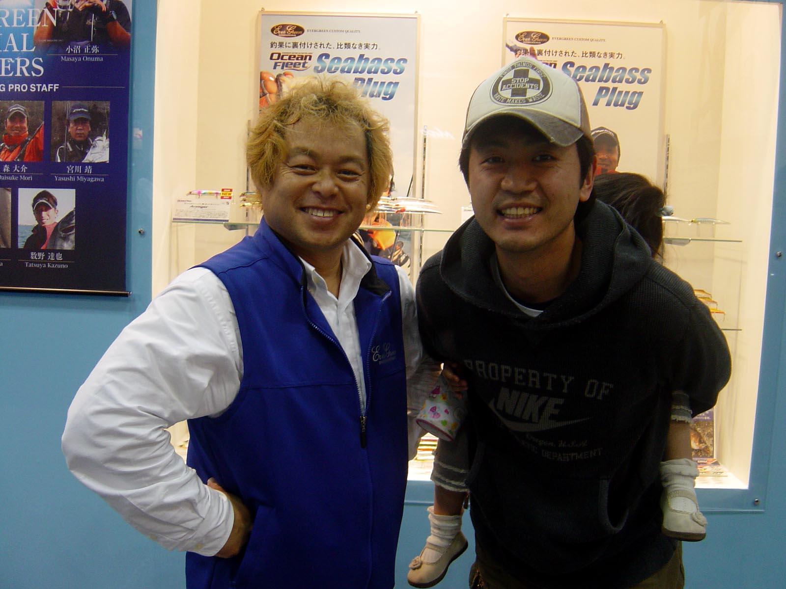 行って参りましたよぉ~ 国際フィッシングショー2009 in横浜_c0008395_0404311.jpg