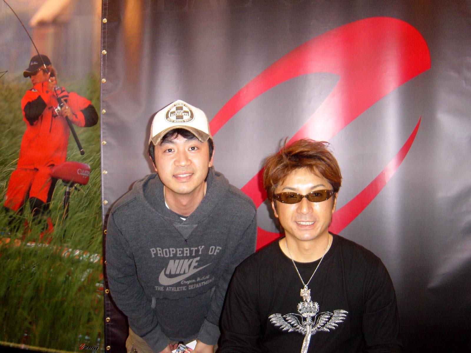 行って参りましたよぉ~ 国際フィッシングショー2009 in横浜_c0008395_0414222.jpg
