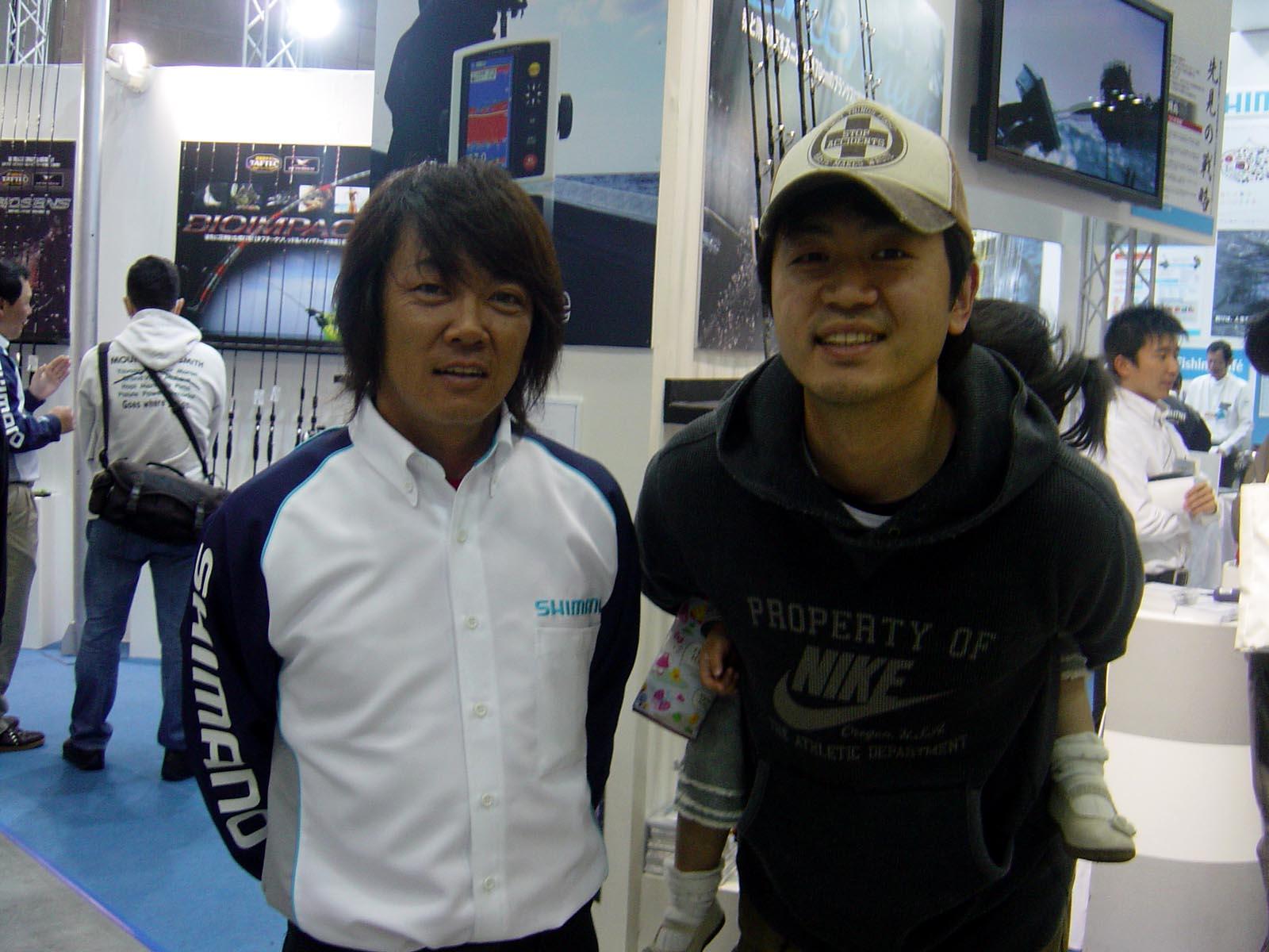 行って参りましたよぉ~ 国際フィッシングショー2009 in横浜_c0008395_041982.jpg
