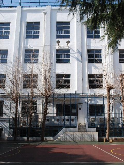 東京・昭和第一高等学校(建築家・木田保造作品探訪)_f0142606_21381077.jpg