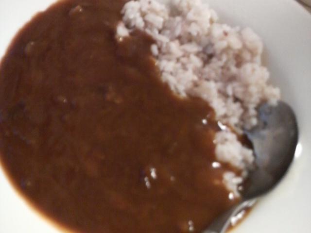 ハヤシライス食べました!_e0114246_2057456.jpg