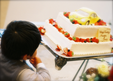 ウエディングケーキの写真_e0046950_2373921.jpg